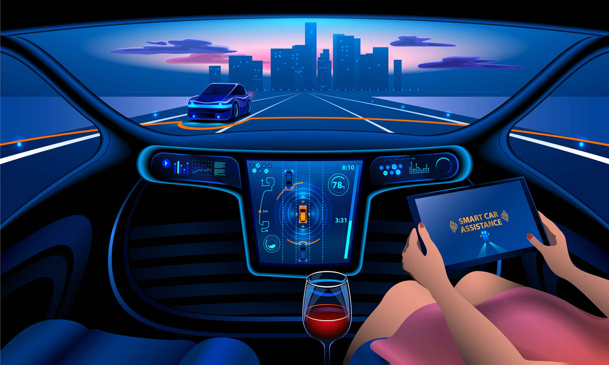 New Autonomous Vehicle Platform Connects Road Authorities with Vehicle Operators